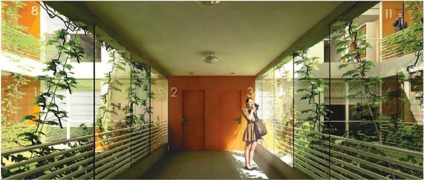 emprendimiento tempora belgrano - loft 1 amb balcón amenities