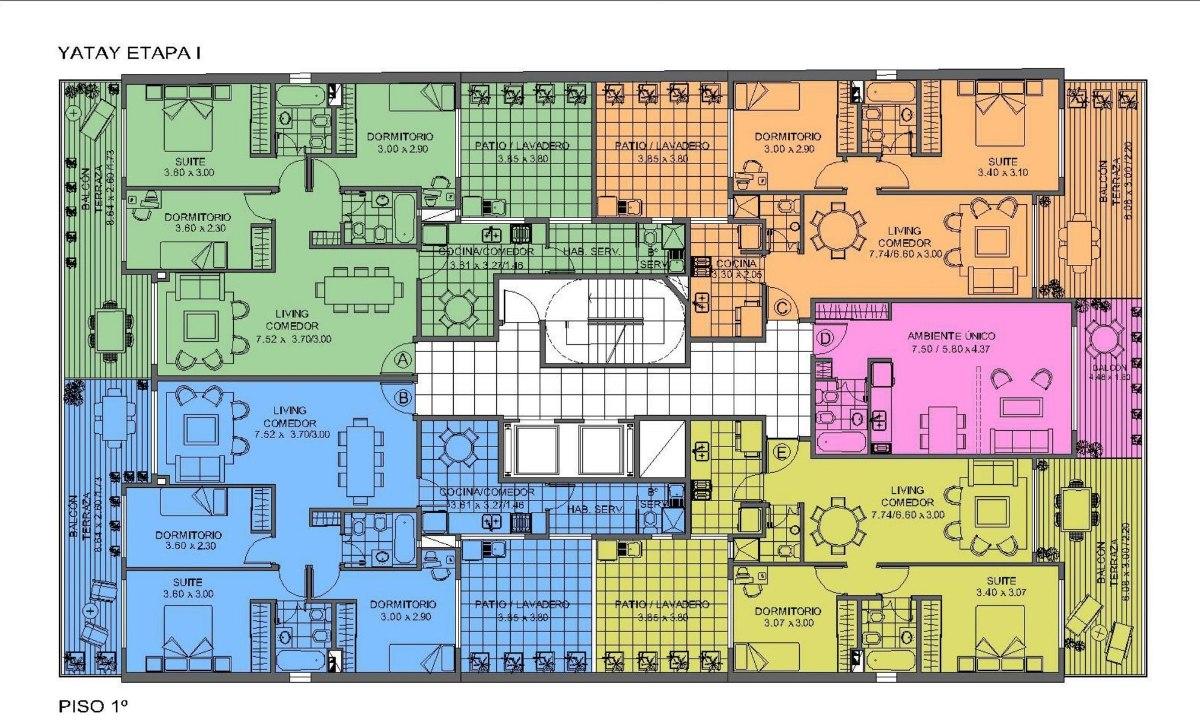emprendimiento terrazas de yatay i - yatay 237