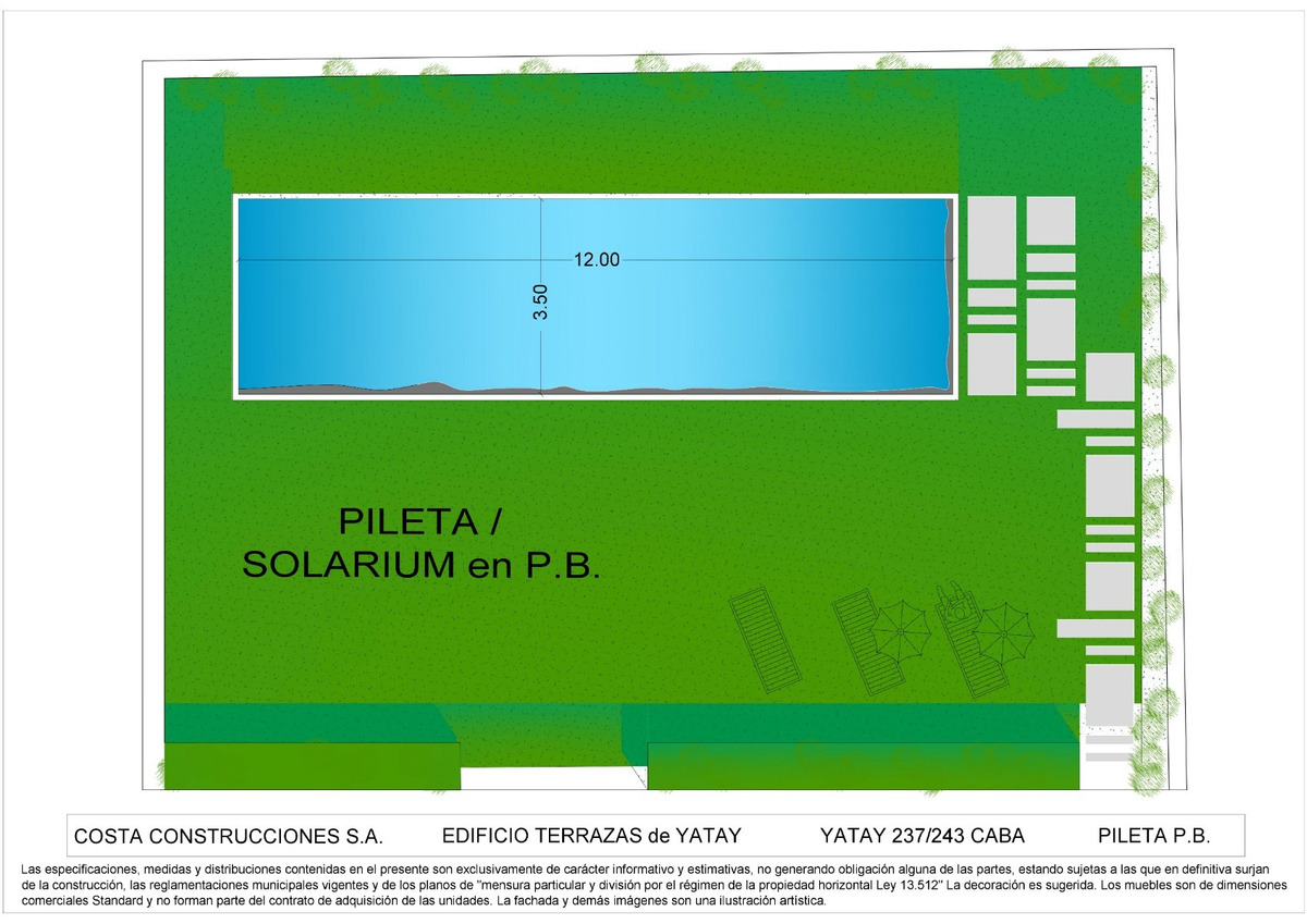 emprendimiento terrazas de yatay ii - yatay 237