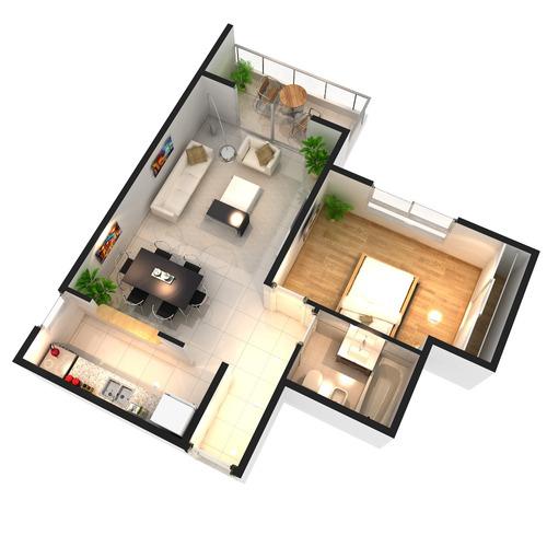 emprendimiento torre ezeiza ii - venta de pozo - 2 ambientes