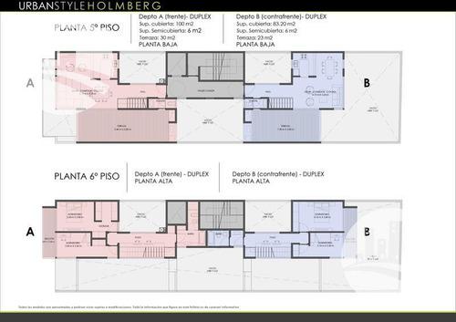 emprendimiento urban style holmberg - 1°  b