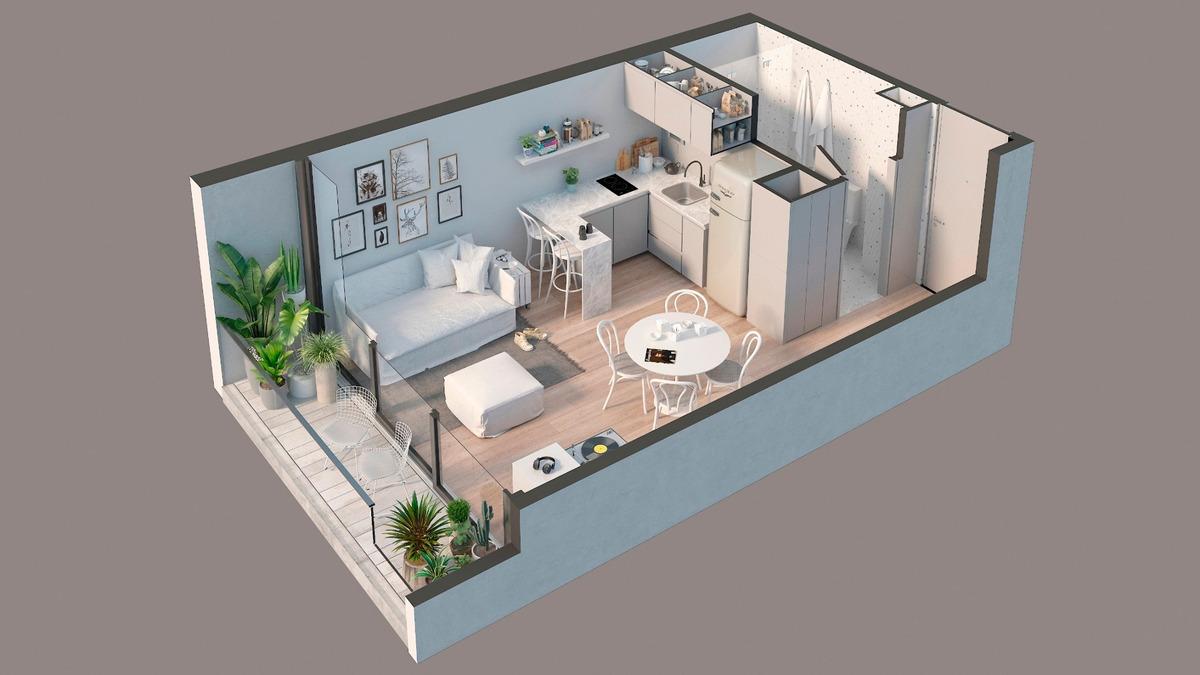 emprendimiento venta - 1 y 2 ambientes - oro 2200 - palermo - pozo