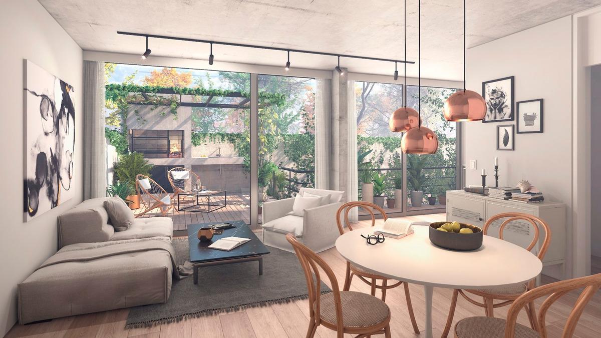 emprendimiento venta - 2 y 3 ambientes - roosevelt 1800 - belgrano - construccion