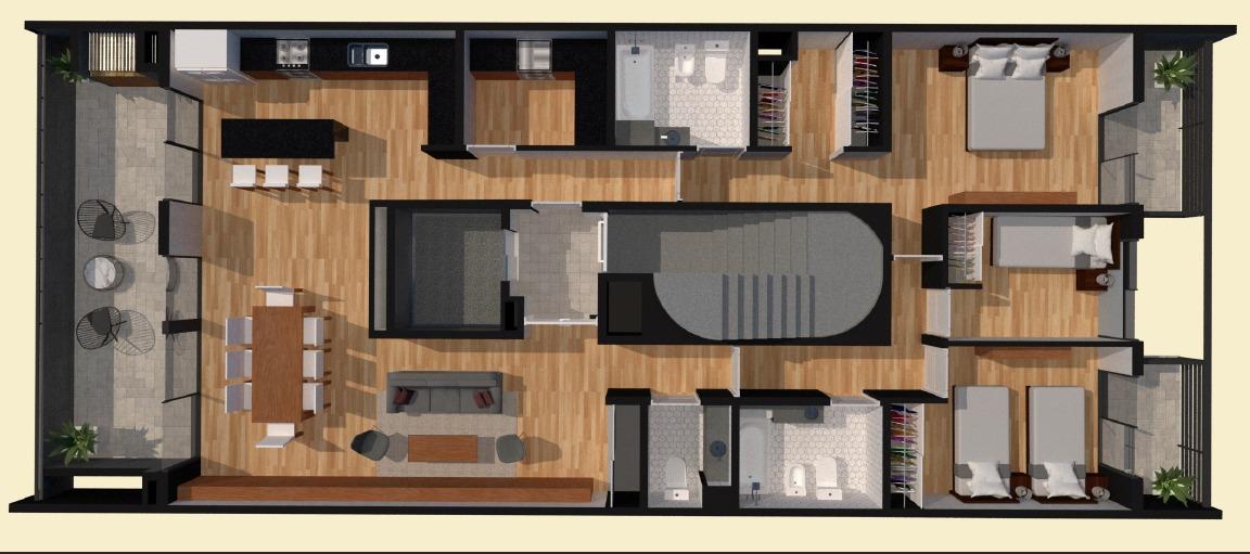 emprendimiento venta de pozo unidades 2, 3 y 4 ambientes