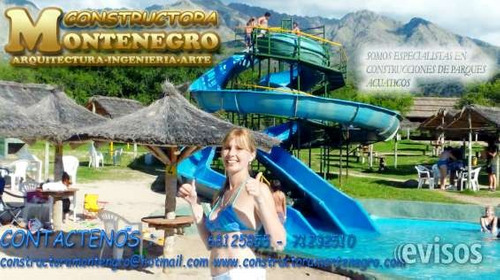 empresa constructora de balnearios y toboganes