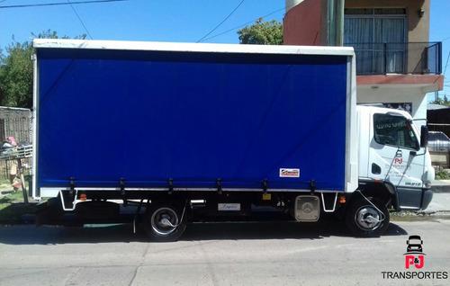 empresa de camiones con pala semiremolques fletes y mudanzas