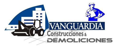 empresa de construcción y demoliciones galpones