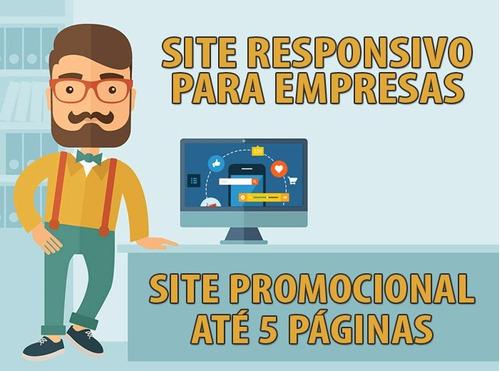 empresa de criação de sites - responsivo e sem mensalidades