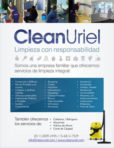 empresa de limpieza - clean uriel limpieza y mantenimiento