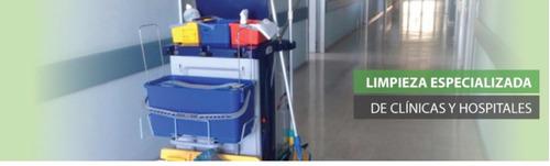 empresa de limpieza, consorcios, final de obra, clínicas,