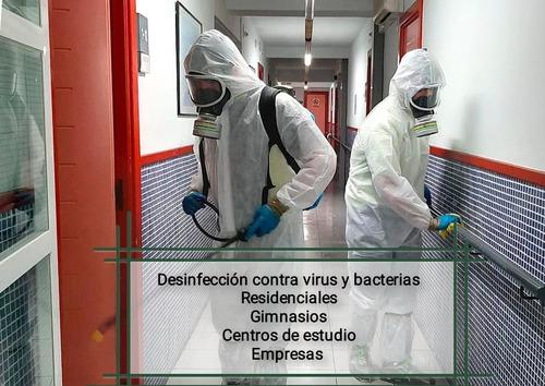 empresa de limpieza edificios desinfecciones tapizados