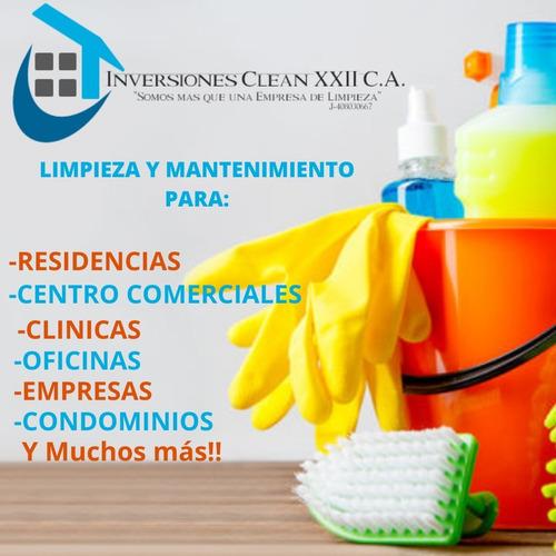 empresa de limpieza y mantenimiento