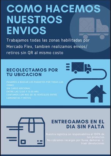 empresa de logistica mercado flex todas las zonas habilitada