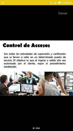 empresa de seguridad cic 208 c.a ofrece servicios