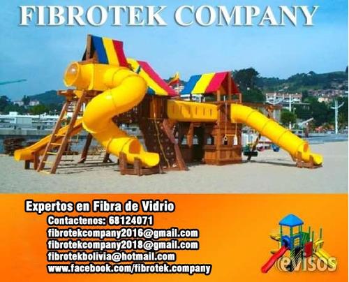 empresa realiza trabajos en parques infantiles y balnearios