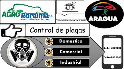 empresa servicio fumigacion control manejo de plaga maracay