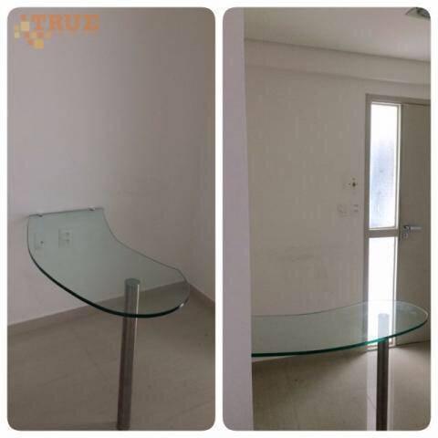 empresarial green tower, sala comercial com 40 m2, reformada e decorada. - sa0148