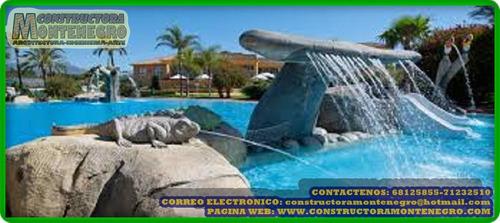 empresas expertos en piscinas forma de playa de bolivia