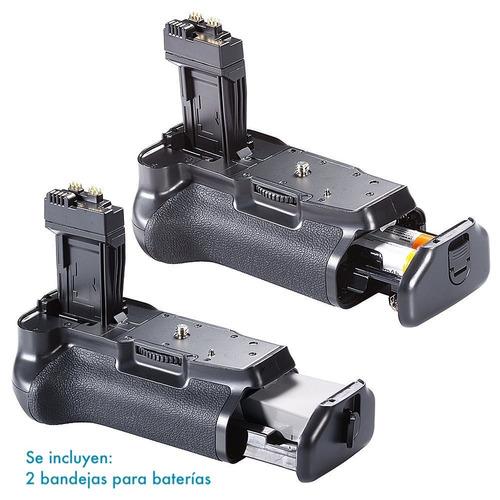 empuñadura grip canon bg-e8 eos rebel t2i t3i t4i t5i