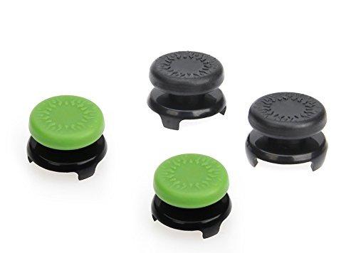 empuñaduras de control de amazonbasics xbox one 4pack, negro