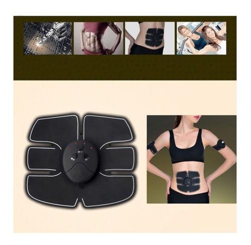 ems pad electroestimulador muscular abdomen brazo abs masaje