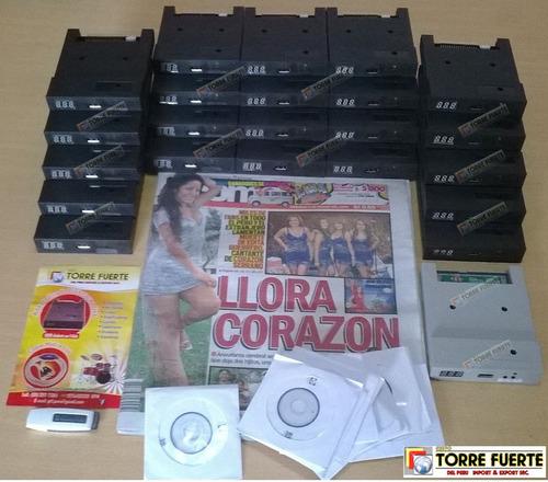emulador, adaptador de disquete a usb korg pa-50