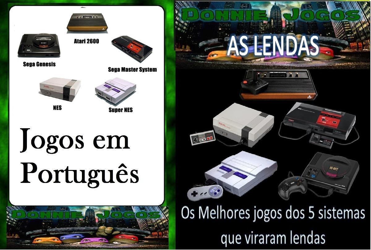 Emulador Atari / Nes / Snes / Mega E Master System Download