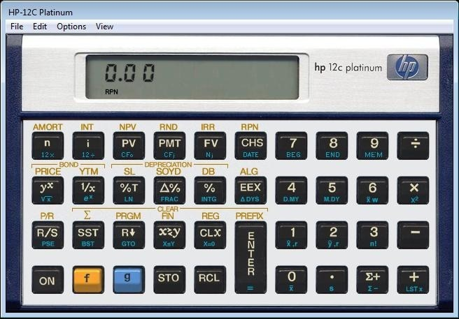 calculadora hp 12c gold para android