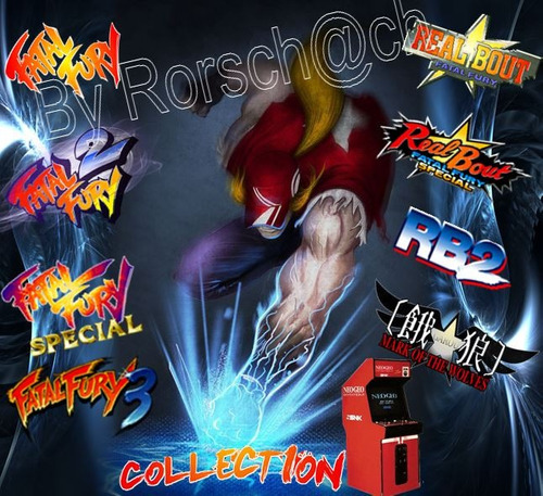 emulador de arcade: fatal fury kollection * por email! :)