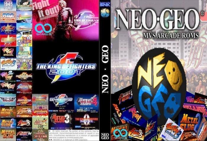 Emulador De Fliperama Neo Geo Para Pc Notebook Mídia Digital