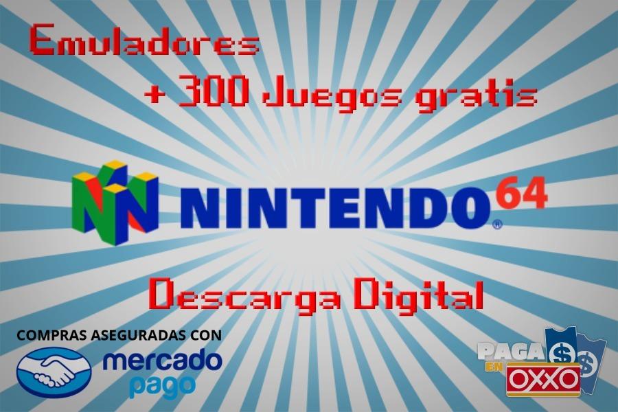 Emulador De Nintendo 64 Para Pc Mas De 300 Juegos 20 00 En
