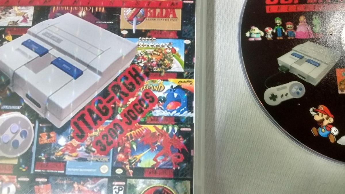 Emulador De Super Nintendo Para Xbox 360 Rgh E Pc 1000 Games