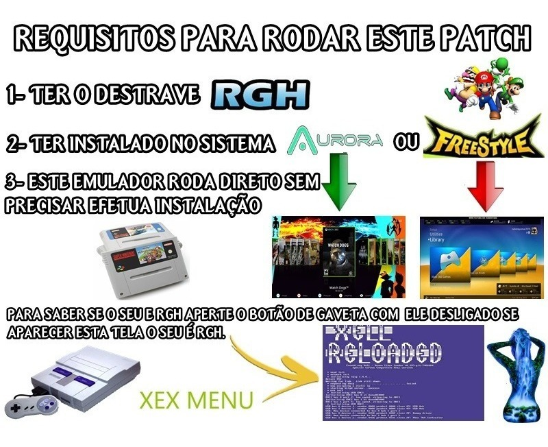 Emulador De Super Nintendo-para Xbox 360-rgh-pc 1000-games
