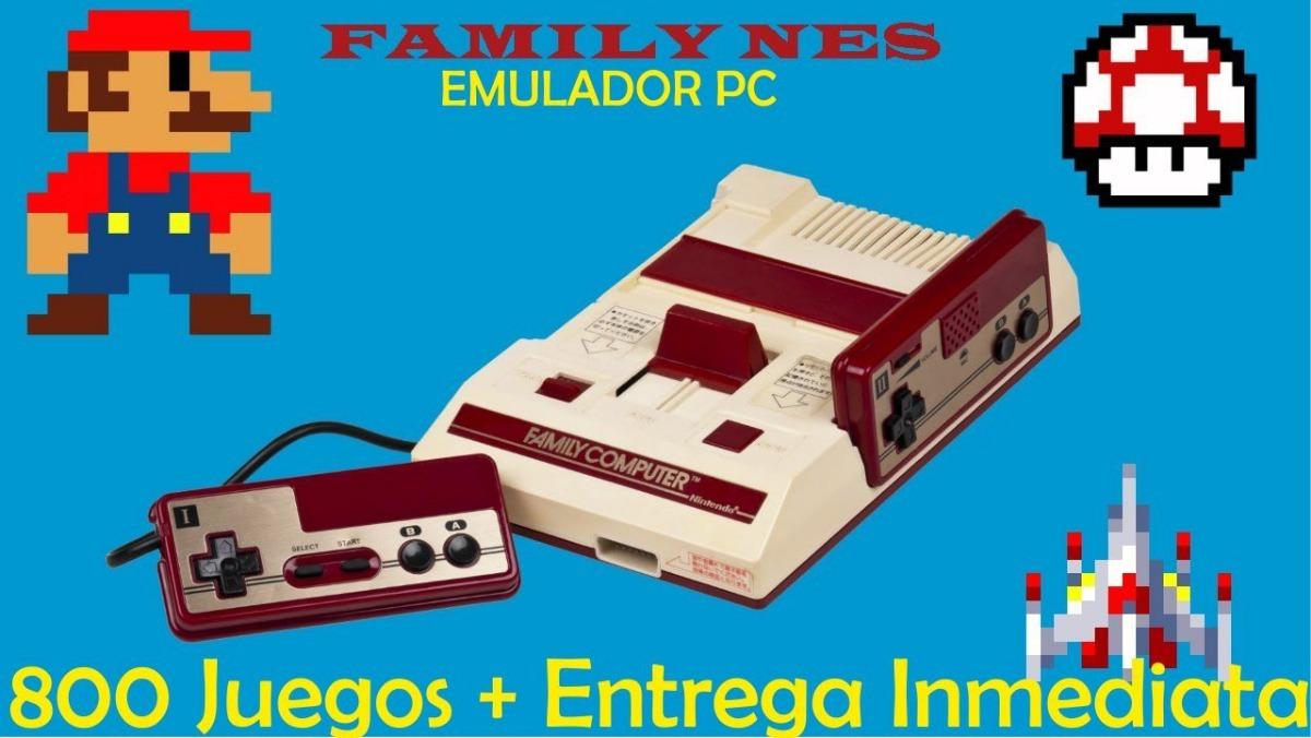 Emulador Family Pc 800 Juegos Envio Automatico 24 7 79 00 En