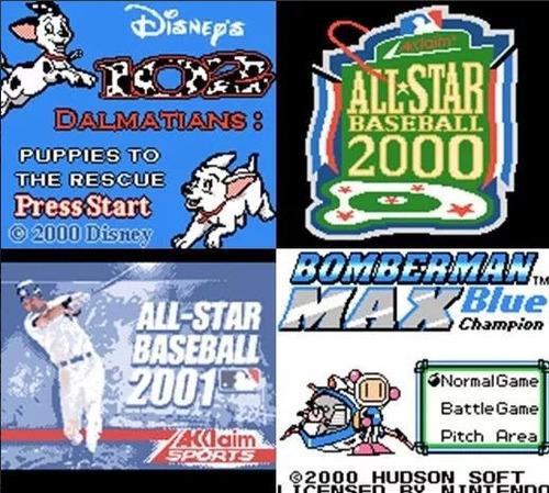 emulador game boy color para 785 juegos