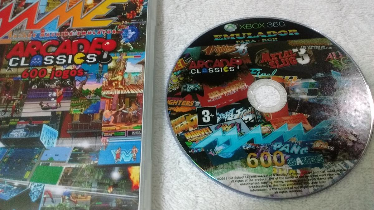 Emulador Mame 602 Games P/ Ex Box Rgh Dvd