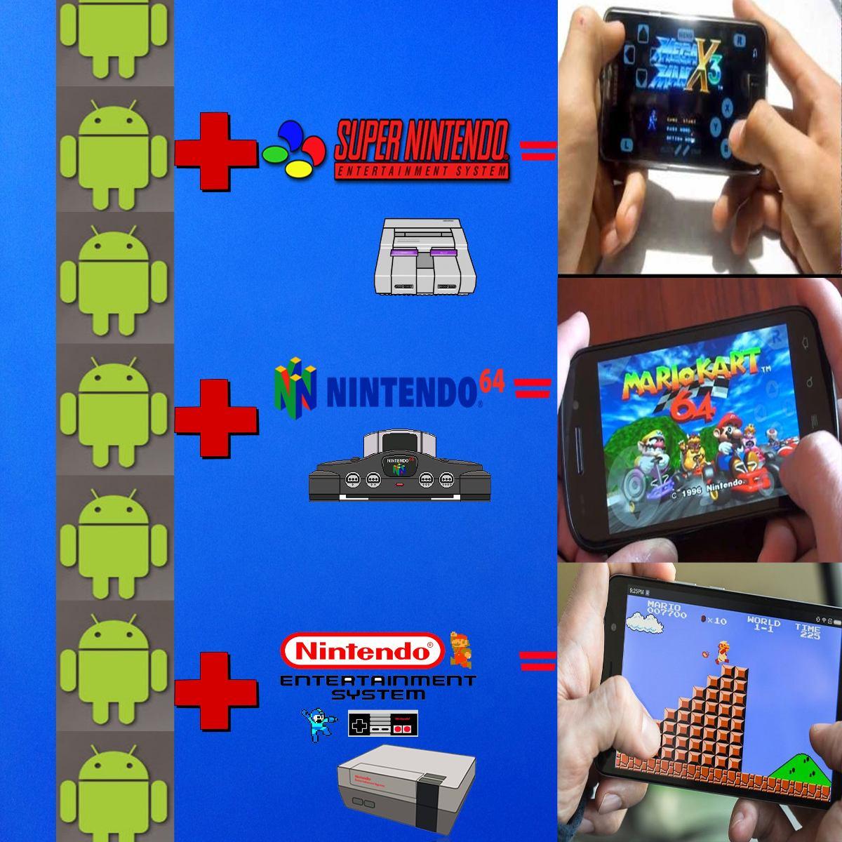 Emulador Para Android 700 Juegos Snes Nes 64 Envio Gratis Bs 20