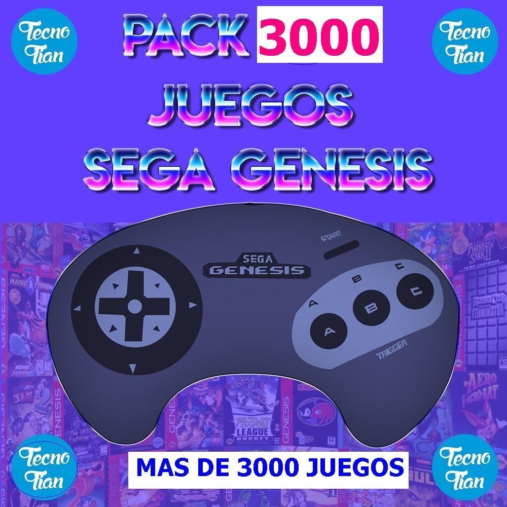 Emulador Pc Sega Genesis 3000 Juegos Sonic Lucha Envio Ya 39