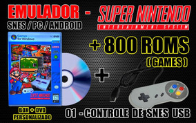 pack roms snes android