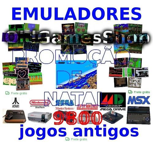 emuladores 9800jgs pc nes snes megadrive atari envio p email