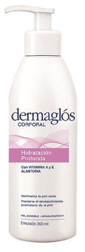 emulsión corporal dermaglós hidratación profunda 300 gr