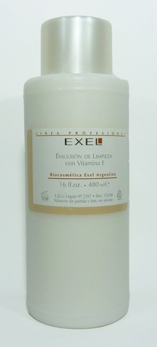 emulsion de limpieza 480ml exel