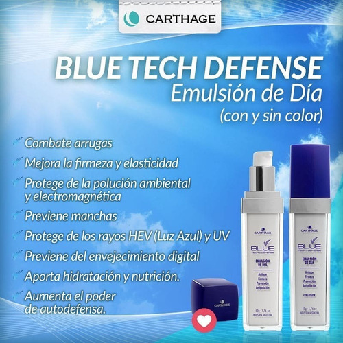 emulsion dia sin color blue tech defense carthage