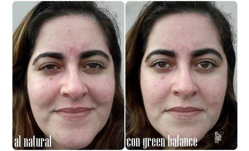 emulsión green balance piel sensible laca