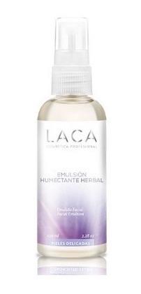 emulsión humectante herbal 100g laca
