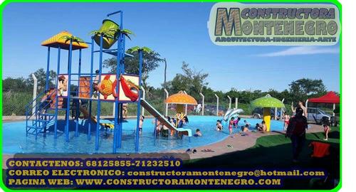 en bolivia mega parques acuaticos infantiles