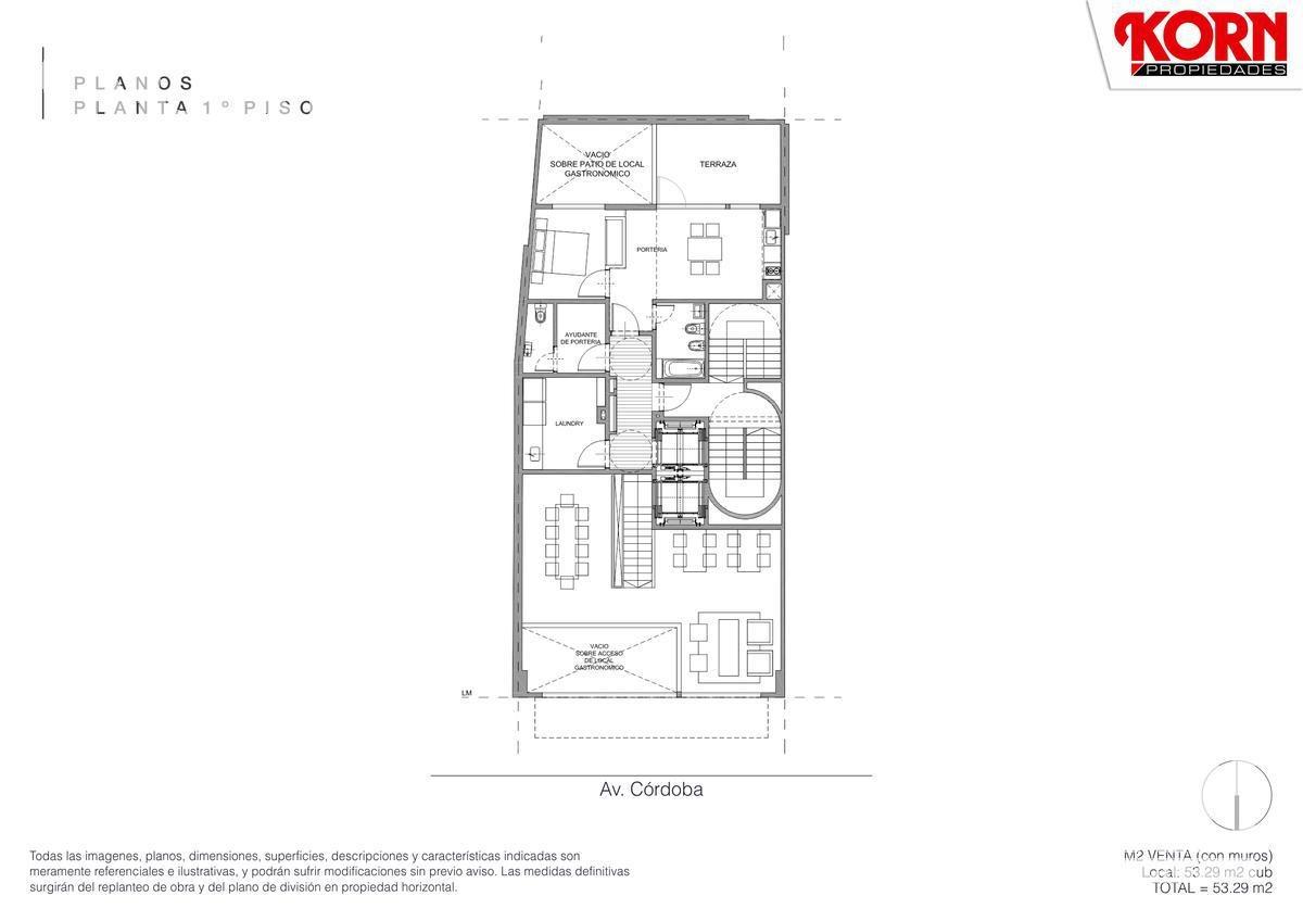 en construccion - venta local gastronomico de tres plantas con patio en retiro / centro
