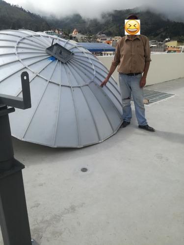 en cuarentena reparación, instalación de antenas satelitales