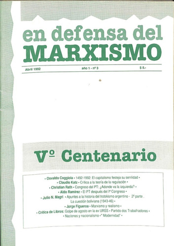 en defensa del marxismo #3