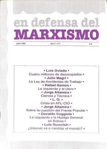 en defensa del marxismo #7